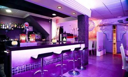 Menú para dos personas con entrante, principal, postre y bebida desde 24,90 € en Xambel