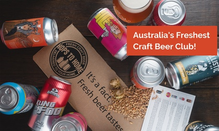 Craft Beer Subscription: One $45, Three $129 or Six Months $249 from Hops to Home Up to $419.70 Value
