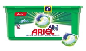 Capsules de lessive Alpine Ariel