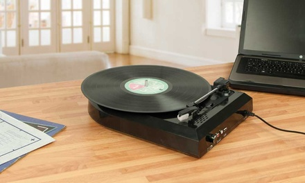 One or Two USB Turntable Record Converters