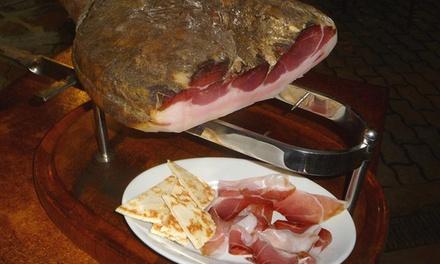 Menu tipico romagnolo e vino a 39,90€euro