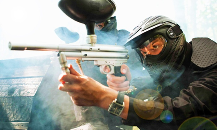Allied Paintball - Multiple Locations: Paintballing For One, Five, Ten or Twenty With Lunch and 50 Paintballs Each from £5 at Allied Paintball (Up to 93% Off)
