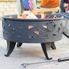 Campeche Fire Pit with Grill