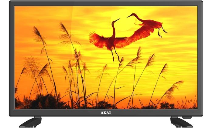 """AKAI TV LED HD 19'' (109,90 €) o 24"""" con DVD integrato (139,90 €) con spedizione gratuita (fino a 39% di sconto)"""