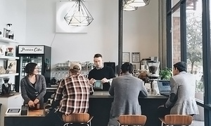 Provision Coffee Bar: Craft Coffee, Tea, Beer, or Wine at Provision Coffee Bar (Up to 47% Off). Three Options Available.