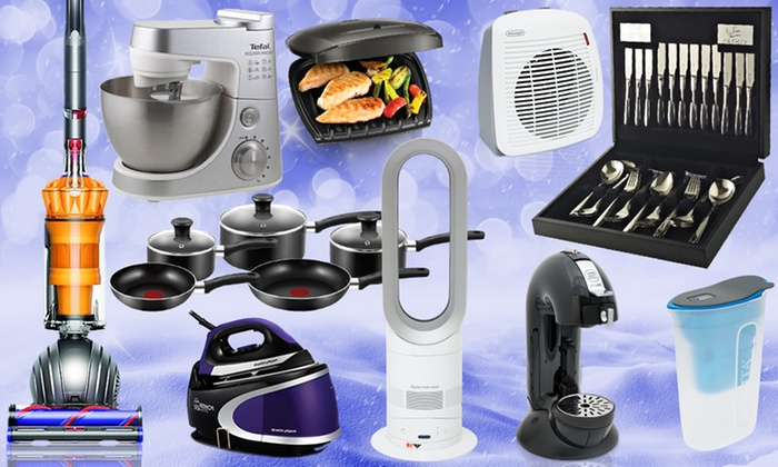 Kitchen Gadget Mystery Deal with a Chance to Receive Dyson Vacuum, Dyson Hot and Cold Fan or Tefal Stand Mixer for £4.99