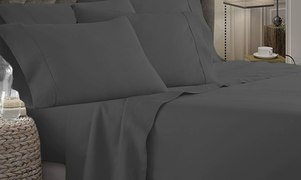 From $25 for a 1800TC (Four or Six-Piece) Ultrasoft Microfibre Sheet Set