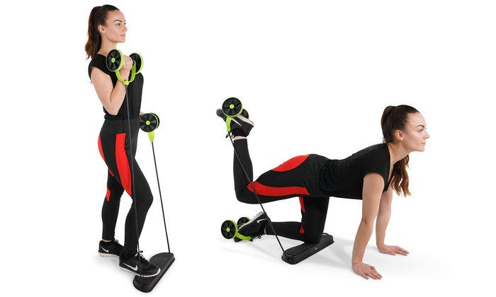 One or Two Tora Fitness 40-in-1 Resistance Workout Machines From £9.98