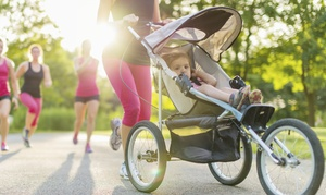 Stroller Strong Moms: Five or 10 Outdoor Stroller Fitness Classes from Stroller Strong Moms (Up to 57% Off)