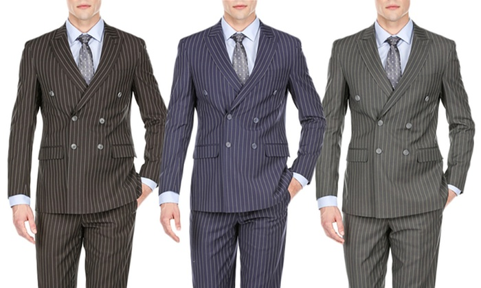dc0e9ffd9276c8 Up To 84% Off on Braveman Men's Slim Fit Suits | Groupon Goods
