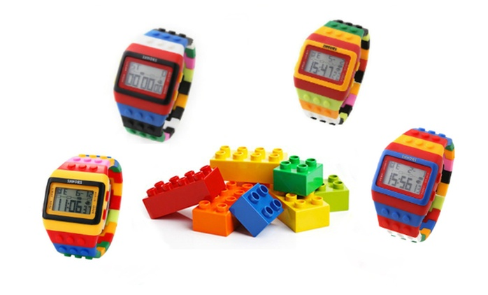 Two (for AED 79) or Four (for AED 139) Colourful Brick Watches (Up to 52% Off)
