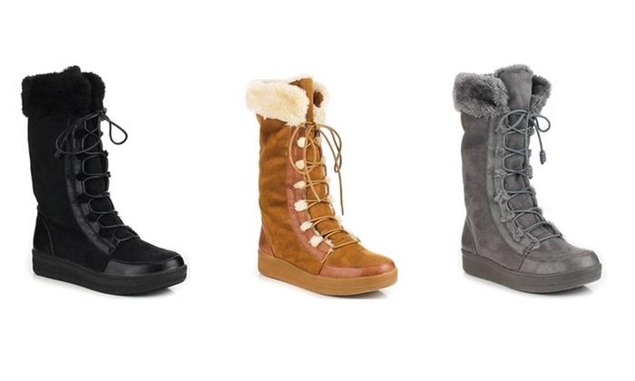 Mata Women's Lace-Up Winter Boots