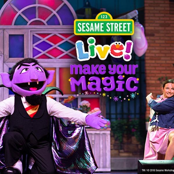 Sesame Street Live! Make Your Magic (September 20–21)