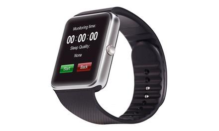 Smartwatch Bluetooth plateado GT08 por 24,99 € (82% de descuento)