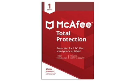 Groupon.it - McAfee Total Protection 2021 per 1 dispositivo per 1 anno