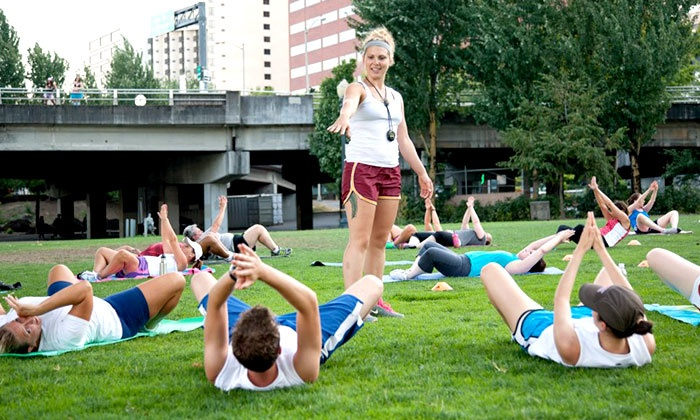 Waterfront Fitness - Multiple Locations: $19.95 for Four-Week Outdoor Boot Camp from Waterfront Fitness ($200 Value)