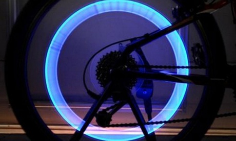 Pack de 2 o 4 luces LED para bicicleta