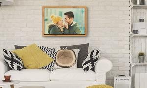 Photo Gifts: Personalisierbare Foto-Leinwand mit Premium- oder Dekor-Rahmen von Photo Gifts (bis zu 80% sparen*)