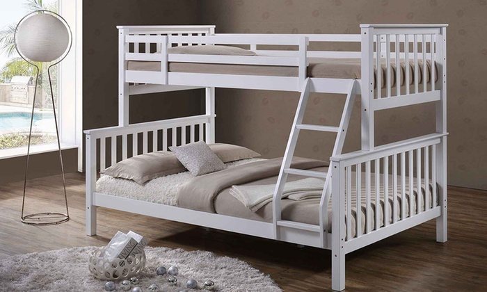 Oscar Triple Bunk Bed with Optional Mattresses