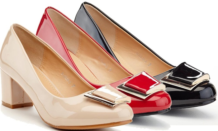 181252e3ba0 Up To 64% Off on Lady Godiva Women's Pumps | Groupon Goods