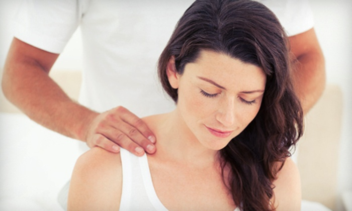 First Choice Chiropractic - Tuckahoe: $35 for a One-Hour Massage with Optional Chiropractic Consultation, Exam, and X-rays at First Choice Chiropractic (Up to $335 Value)