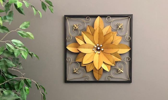 3 Dimensional Metal Wall Art Groupon
