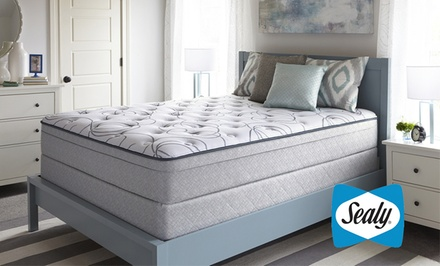 Sealy Highfield Plush Eurotop Mattress Sets from $399.99–$799.99. Free White Glove Delivery. 10-Year Warranty.