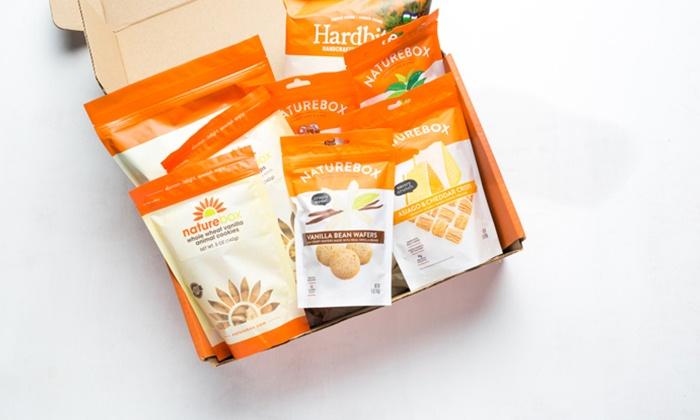 Snack Boxes - NatureBox | Groupon