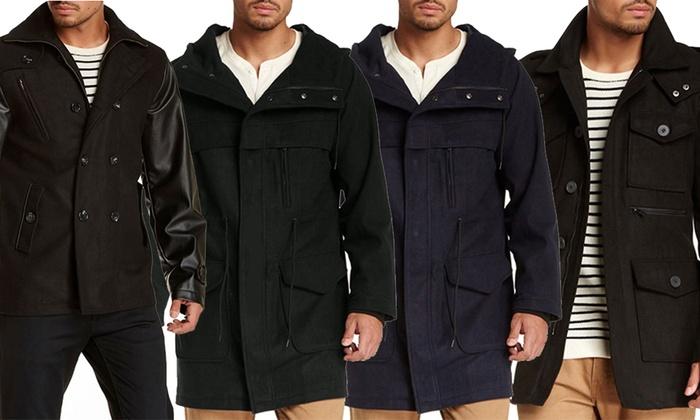 Seduka Men's Wool Blend Jacket, Coat, or Parka