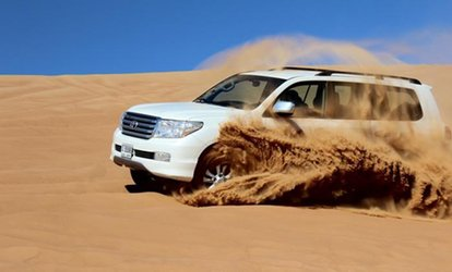 Evening or Morning Desert Safari with Dune Bashing for Up to Four with Real Adventure Tourism (Up to 62% Off)