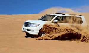 Real Adventure Tourism: Evening or Morning Desert Safari with Dune Bashing for Up to Four with Real Adventure Tourism (Up to 62% Off)