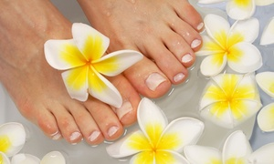 Ava Beauty: Luxury Manicure or Pedicure or Manicure or Pedicure with Optional Heated Mask Treatment at Ava Beauty (Up to 62% Off)