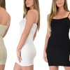 Lyss Loo Women's Stretch Camisole Dress (4-Pack)