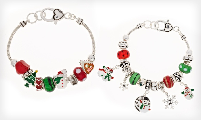 Ambrosia Winter-Holiday Charm Bracelets: $5.99 for an Ambrosia Winter-Holiday Charm Bracelet ($95 List Price). 5 Styles Available.