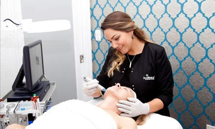 One or Three Dermaplaning Treatments with Vitamin C Mask at The Med Spa Of New Smyrna Beach (Up to 58% Off)