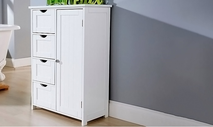 New England Bathroom Cabinet Groupon
