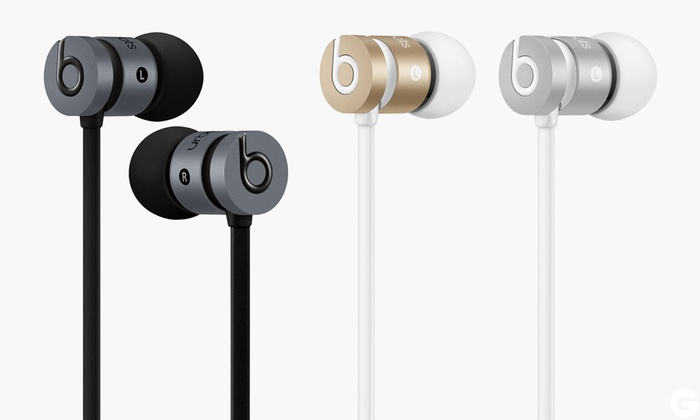 f389e3a4e235c3 Beats UrBeats 2 Earphones | Groupon Goods