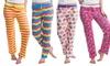 Women's Printed Pajama Pants (3-Pack): Women's Printed Pajama Pants (3-Pack)
