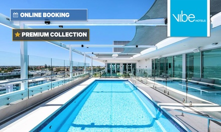 Perth: One or Two Nights for Two People with Wi-Fi, Parking and Late Check-Outat 4.5* Vibe Hotel Subiaco-Perth