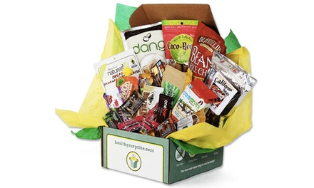 $30 for $60 Worth of Healthy Snack-Food Gift Boxes or Subscriptions from Healthy Surprise