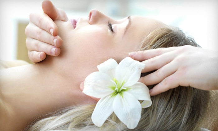 SpaBar - Near North Side: 50-Minute Massage, Facial, or Both at SpaBar (Up to 54% Off)