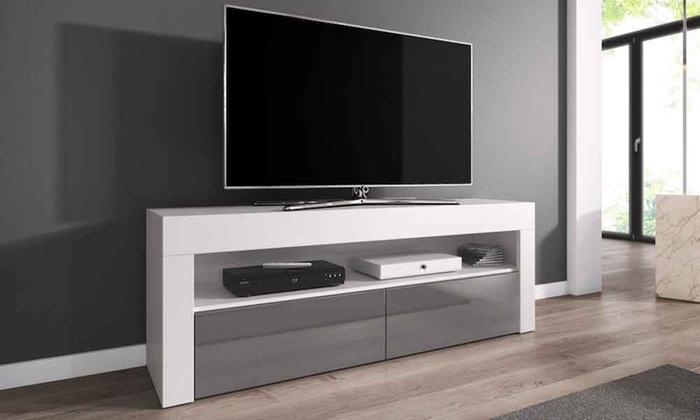 ecom tv unterschrank groupon goods. Black Bedroom Furniture Sets. Home Design Ideas