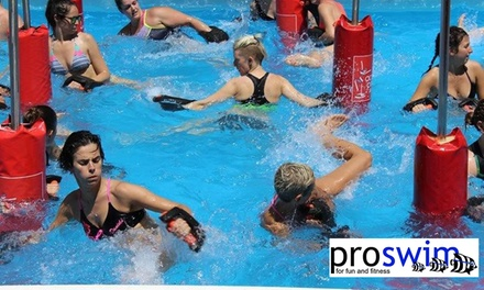 $19 for 8 Weeks of Unlimited Aqua Fitness Classes at ProSwim (Up to $260 Value)