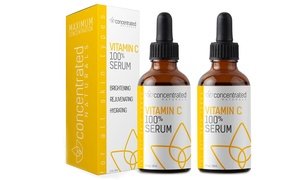 Concentrated Naturals Vitamin C 100% Serum (1- or 2-Pack)