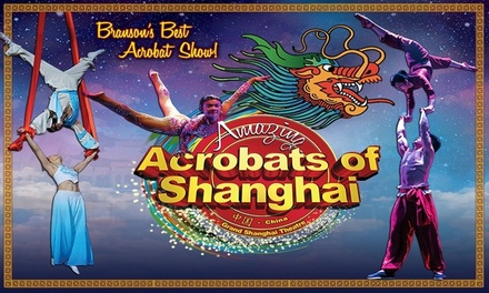 Amazing Acrobats of Shanghai (March 8–December 31)