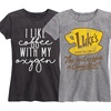 Women's Classic-Fit Coffee & Sass T-Shirts