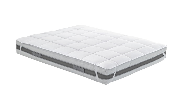 Premium Quilted Mattress Topper in Microfibre Made in Italy from £23.98
