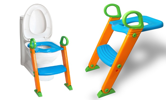 Up To 61 Off On Potty Training Ladder Step Seat Groupon