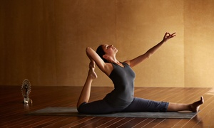 The Yoga Studio: Five Yoga Classes at The Yoga Studio (67% Off)