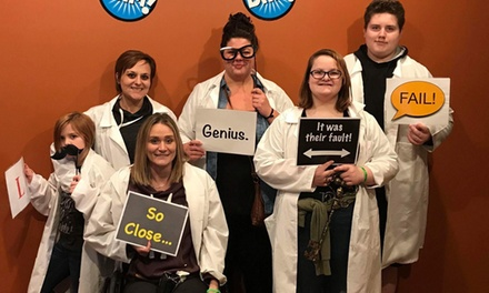 Escape Room atBam!(Up to 32% Off).Three Options Available.